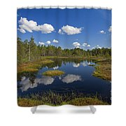 110613p187 Shower Curtain