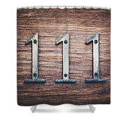 111 Or 3 Shower Curtain