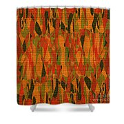 1114 Abstract Thought Shower Curtain
