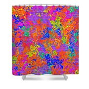 1115 Abstract Thought Shower Curtain