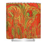 1133 Abstract Thought Shower Curtain