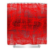 1162 Abstract Thought Shower Curtain