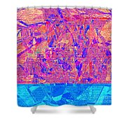1182 Abstract Thought Shower Curtain