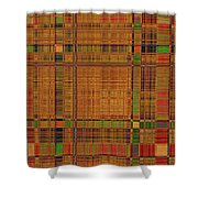 1190 Abstract Thought Shower Curtain