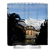 Alpine Village Shower Curtain