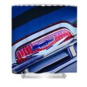 Chevrolet Grille Emblem Shower Curtain