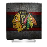 Chicago Blackhawks Shower Curtain