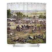 Civil War Gettysburg Shower Curtain