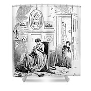 Dickens: David Copperfield Shower Curtain
