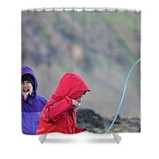 Downton Creek Hike Shower Curtain