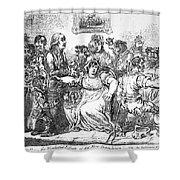 Edward Jenner (1749-1823) Shower Curtain
