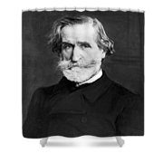 Giuseppe Verdi (1813-1901) Shower Curtain