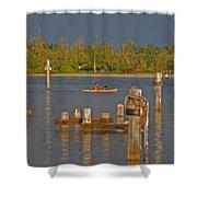 12- Kayak Shower Curtain