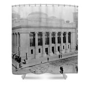 New York Stock Exchange Shower Curtain