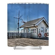 Penarth Pier Shower Curtain