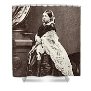Queen Victoria (1819-1901) Shower Curtain