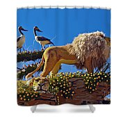 Rose Parade  Shower Curtain