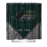 Tampa Bay Rays Shower Curtain
