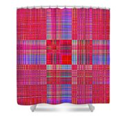 1212 Abstract Thought Shower Curtain