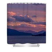 121205a-154 A Sunnyside Sunrise Shower Curtain