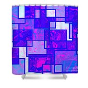 1216 Absract Thought Shower Curtain
