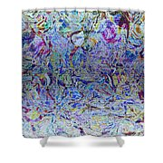 1222 Abstract Thought Shower Curtain