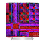 1227 Abstract Thought Shower Curtain