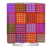 1229 Abstract Thought Shower Curtain