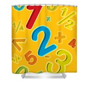 123 Shower Curtain