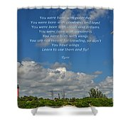 123- Rumi Shower Curtain