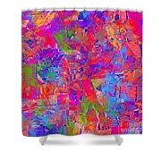 1248 Abstract Thought Shower Curtain