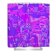 1250 Abstract Thought Shower Curtain