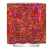 1251 Abstract Thought Shower Curtain