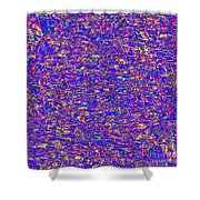 1253 Abstract Thought Shower Curtain