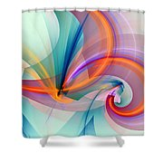 1260 Shower Curtain by Lar Matre