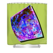 1273 Abstract Thought Shower Curtain