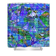 1289 Abstract Thought Shower Curtain