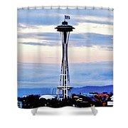 12th Man Panorama Shower Curtain