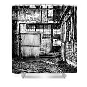 Abandoned Sugarmill Shower Curtain