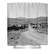California Bodie, 1962 Shower Curtain