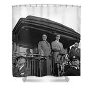 Franklin D Shower Curtain