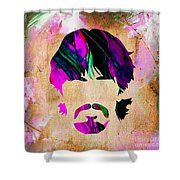 George Harrison Collection Shower Curtain