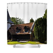Greensted Church Shower Curtain