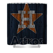 Houston Astros Shower Curtain