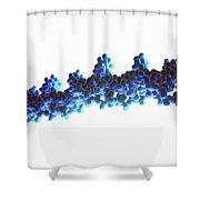 Human Dna Shower Curtain