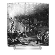 John Wesley (1703-1791) Shower Curtain