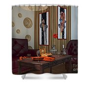 My Art In The Interior Decoration - Elena Yakubovich Shower Curtain