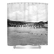 Panama Canal, C1910 Shower Curtain