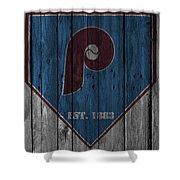 Philadelphia Phillies Shower Curtain