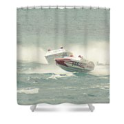 Port Huron Sarnia International Offshore Powerboat Race Shower Curtain